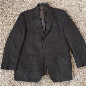 Brown Houndstooth Sport Coat